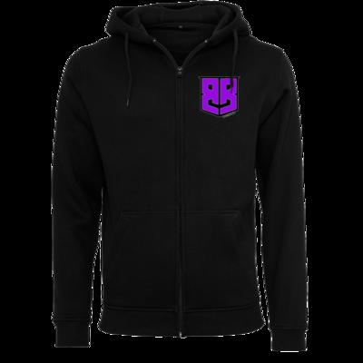 Motiv: Heavy Zip-Hoodie - Purple Logo