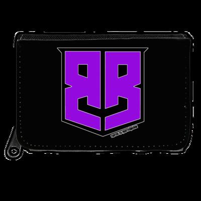 Motiv: Geldboerse - Purple Logo