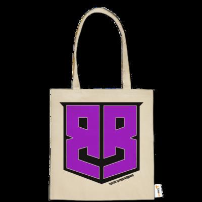 Motiv: Baumwolltasche - Purple Logo