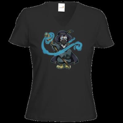 Motiv: T-Shirt Damen V-Neck Classic - The Elder Dodo