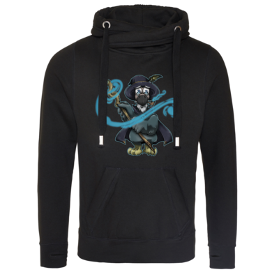 Motiv: Cross Neck Hoodie - The Elder Dodo