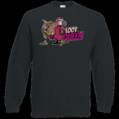 Motiv: Sweatshirt Classic - Loot-Queen
