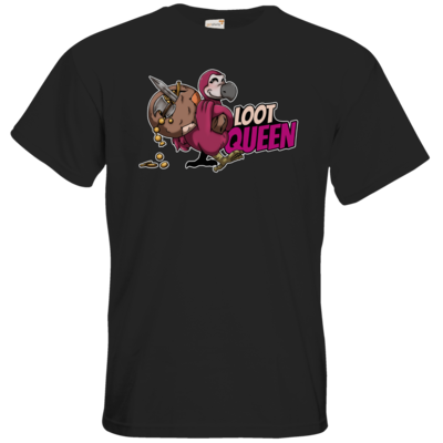 Motiv: T-Shirt Premium FAIR WEAR - Loot-Queen