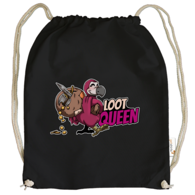 Motiv: Cotton Gymsac - Loot-Queen