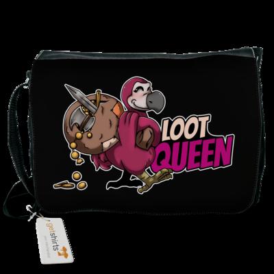 Motiv: Schultertasche - Loot-Queen