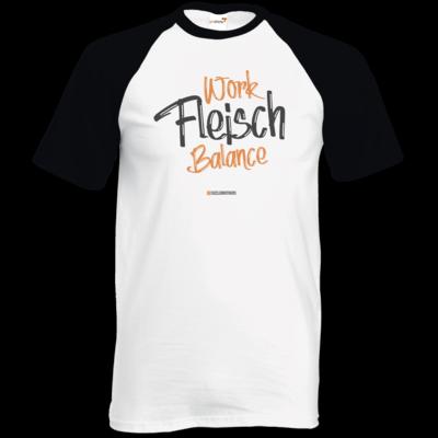 Motiv: TShirt Baseball - Fleisch Balance