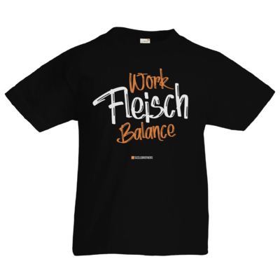 Motiv: Kids T-Shirt Premium FAIR WEAR - Fleisch Balance