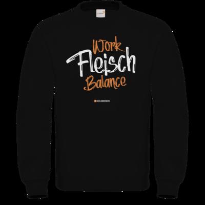 Motiv: Sweatshirt FAIR WEAR - Fleisch Balance