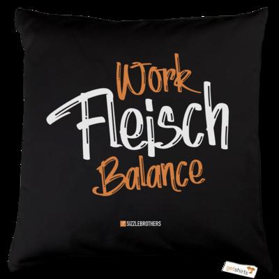 Motiv: Kissen Baumwolle - Fleisch Balance