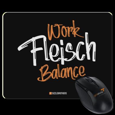 Motiv: Mousepad Textil - Fleisch Balance