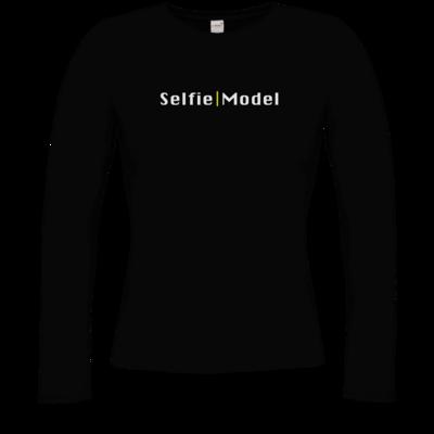 Motiv: Longsleeve Damen Organic - Selfie Model