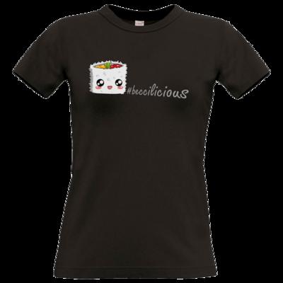 Motiv: T-Shirt Damen Premium FAIR WEAR - beccilicious