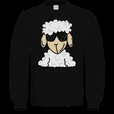 Motiv: Sweatshirt FAIR WEAR - ZOS Schaf mit Sonnenbrille
