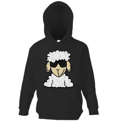 Motiv: Kids Hooded Sweat - ZOS Schaf mit Sonnenbrille