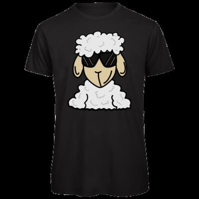Motiv: Organic T-Shirt - ZOS Schaf mit Sonnenbrille