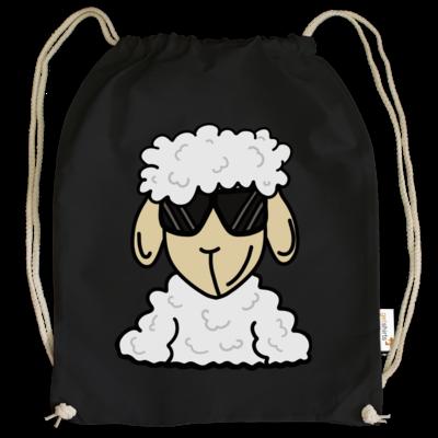 Motiv: Cotton Gymsac - ZOS Schaf mit Sonnenbrille