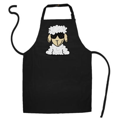 Motiv: Schürze - ZOS Schaf mit Sonnenbrille