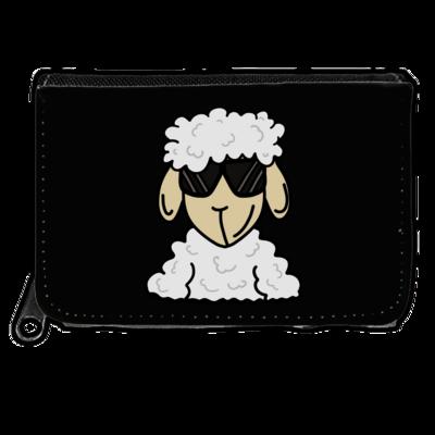 Motiv: Geldboerse - ZOS Schaf mit Sonnenbrille
