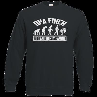 Motiv: Sweatshirt Classic - Evolution PUBG und OpaFinch