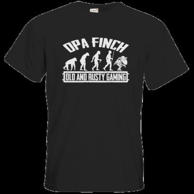 Motiv: T-Shirt Premium FAIR WEAR - Evolution PUBG und OpaFinch