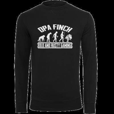 Motiv: Light Crew Sweatshirt - Evolution PUBG und OpaFinch