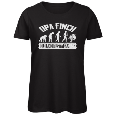 Motiv: Organic Lady T-Shirt - Evolution PUBG und OpaFinch