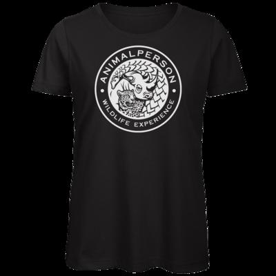 Motiv: Organic Lady T-Shirt - AnimalPerson - Logo