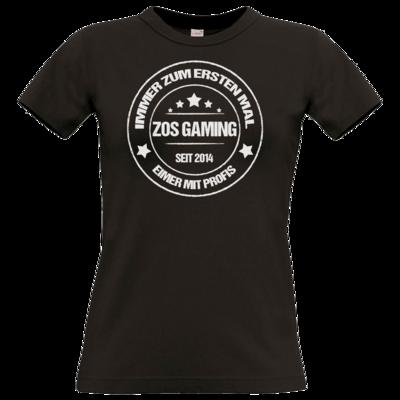 Motiv: T-Shirt Damen Premium FAIR WEAR - ZOS Vintage - Eimer mit Profis