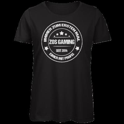 Motiv: Organic Lady T-Shirt - ZOS Vintage - Eimer mit Profis