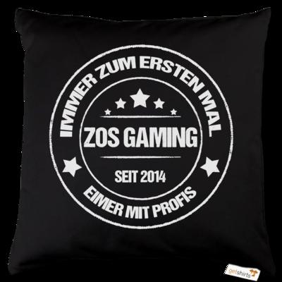 Motiv: Kissen Baumwolle - ZOS Vintage - Eimer mit Profis