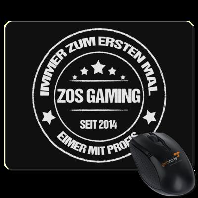 Motiv: Mousepad Textil - ZOS Vintage - Eimer mit Profis