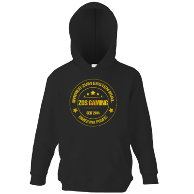 Motiv: Kids Hooded Sweat - ZOS Vintage GOLD - Eimer mit Profis