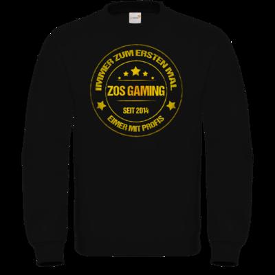 Motiv: Sweatshirt FAIR WEAR - ZOS Vintage GOLD - Eimer mit Profis