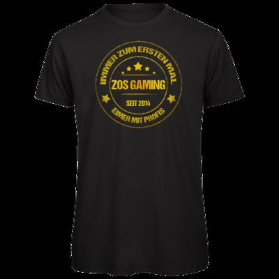 Motiv: Organic T-Shirt - ZOS Vintage GOLD - Eimer mit Profis