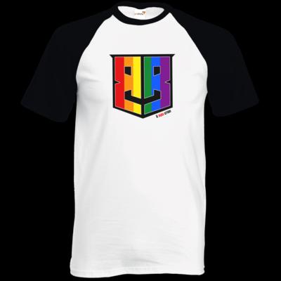 Motiv: TShirt Baseball - Logo Pride