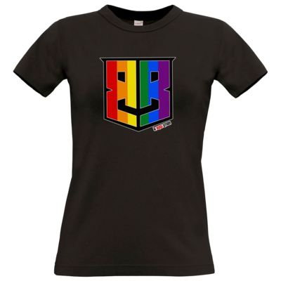 Motiv: T-Shirt Damen Premium FAIR WEAR - Logo Pride