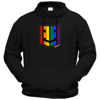 Motiv: Hoodie Premium FAIR WEAR - Logo Pride