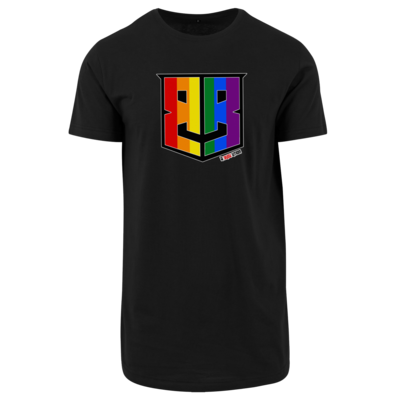 Motiv: Shaped Long Tee - Logo Pride