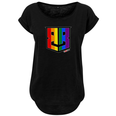 Motiv: Ladies Long Slub Tee - Logo Pride