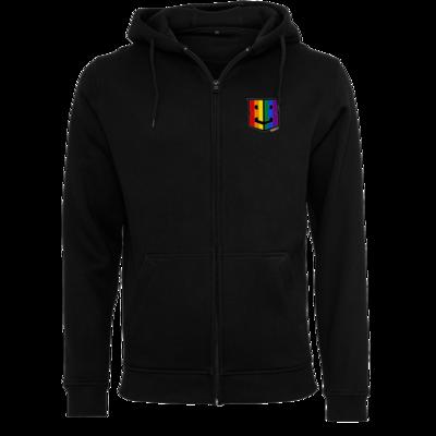 Motiv: Heavy Zip-Hoodie - Logo Pride