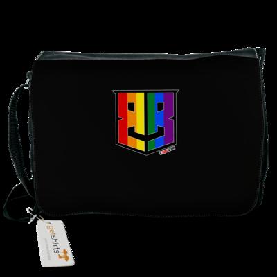 Motiv: Schultertasche - Logo Pride