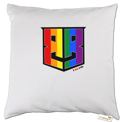 Motiv: Kissen - Logo Pride