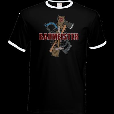 Motiv: T-Shirt Ringer - GDZ Baumeister