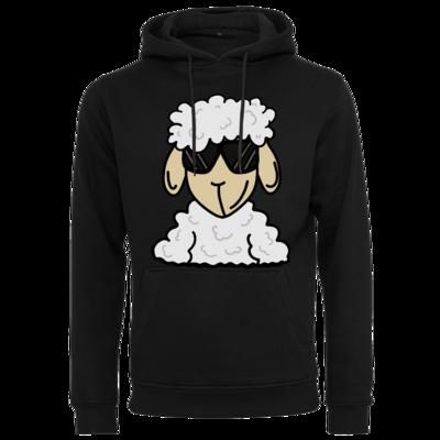 Motiv: Heavy Hoodie - ZOS Schaf mit Sonnenbrille