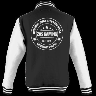Motiv: College Jacke - ZOS Vintage - Eimer mit Profis