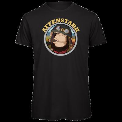Motiv: Organic T-Shirt - Affenstark