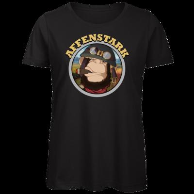 Motiv: Organic Lady T-Shirt - Affenstark