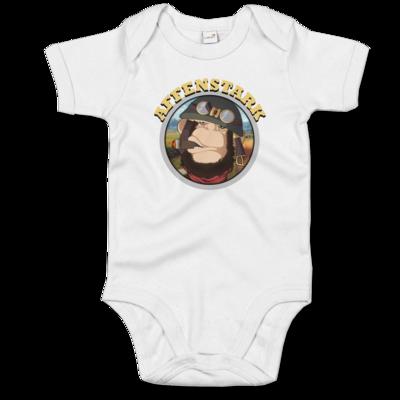 Motiv: Baby Body Organic - Affenstark