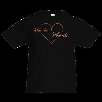 Motiv: Kids T-Shirt Premium FAIR WEAR - Für die Herde - Herz