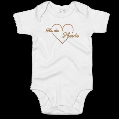 Motiv: Baby Body Organic - Für die Herde - Herz